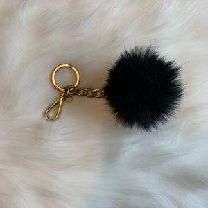 Michael Kors Fluffy Keychain